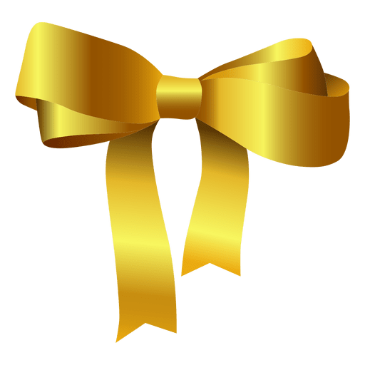 Bow tie yellow - Transparent PNG & SVG vector file