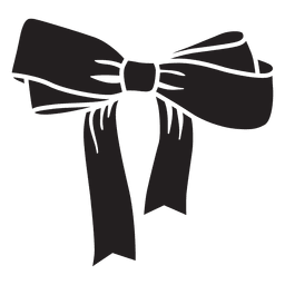 Laço de laço preto