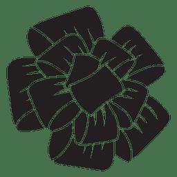 Pom pom black bow