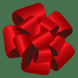 Arco rojo pom pom