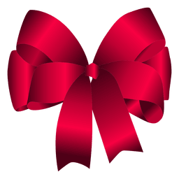 Red bow simples