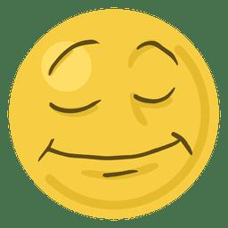 Emoticon de emoji de cara de sonrisa