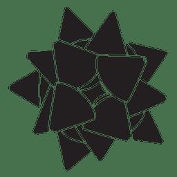 Star bow black