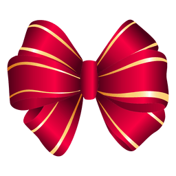Triple bow red