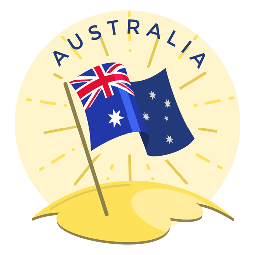 Australia flag Transparent PNG