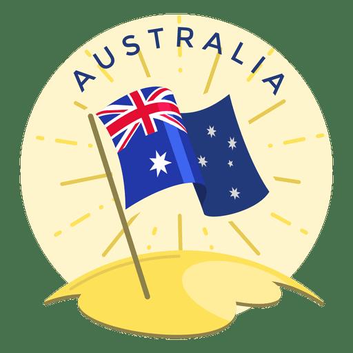 Bandera de australia Transparent PNG