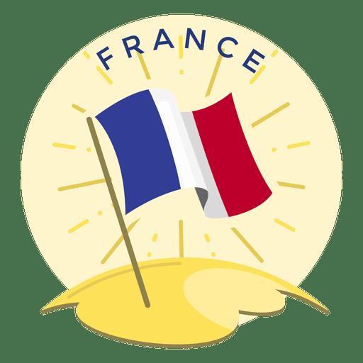 France flag Transparent PNG