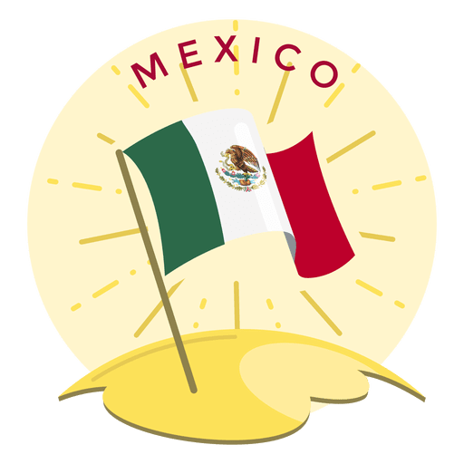 Mexico flag Transparent PNG