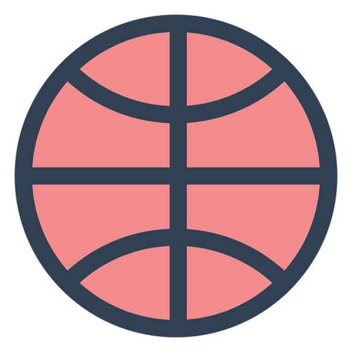 Basketball ball stroke icon Transparent PNG