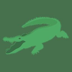 Desenhos animados de cocodrile