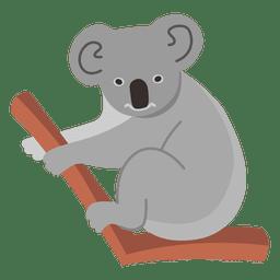 Desenhos animados de coala