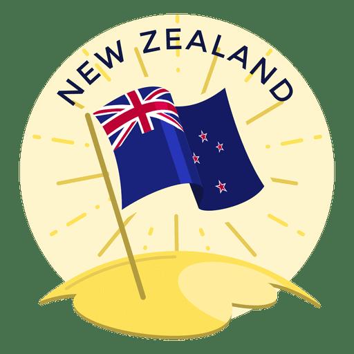 New zealand flag Transparent PNG