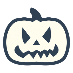 Pumpkin stroke icon