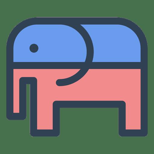 Elefante republicano Transparent PNG