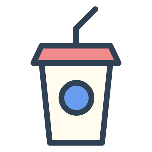 Stroke cup drink Transparent PNG