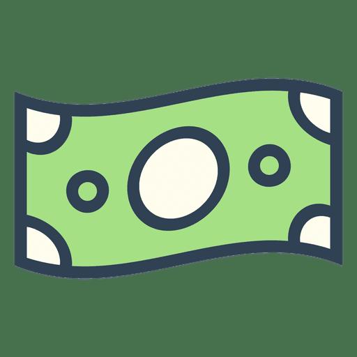 Stroke Dollar Bill