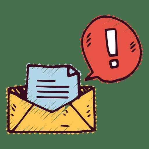 Nuevo mensaje de correo Transparent PNG