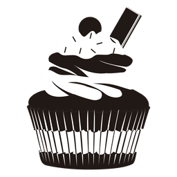 cupcake illustration