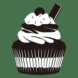 Ilustração de cupcake