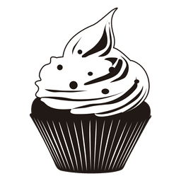 Cute  cupcake illustration
