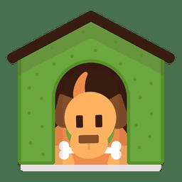 Perro en casa