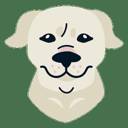 Ilustración de dogo argentino