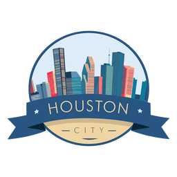 Insignia del horizonte de Houston