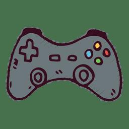 Icono del doodle del joystick