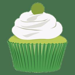 Ilustração do cupcake de limão