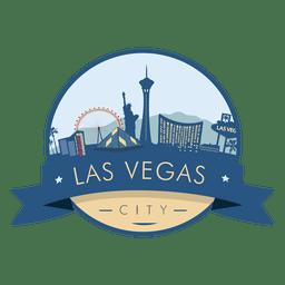 Las Vegas Skyline Abzeichen