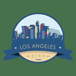 Distintivo do horizonte de Los Angeles