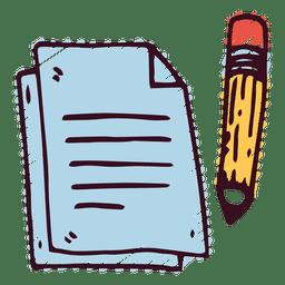 Notes pencil