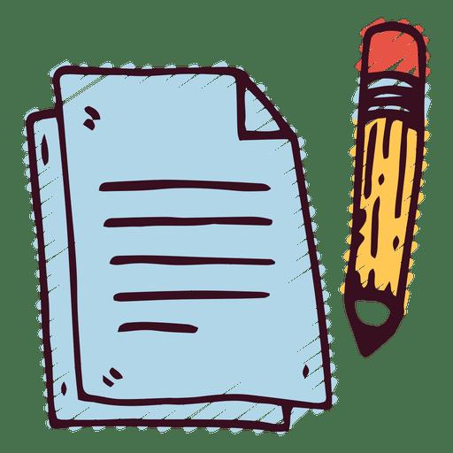 Notes pencil Transparent PNG