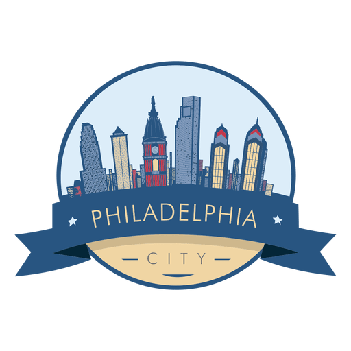 Insignia del horizonte de Filadelfia Transparent PNG