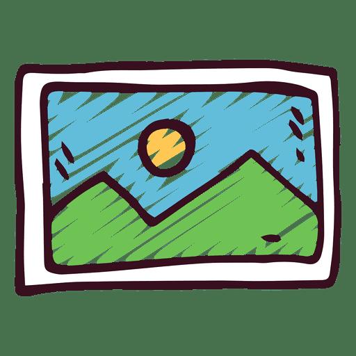 Imagen del icono del doodle Transparent PNG
