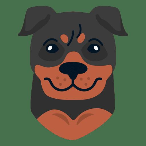 Ilustración de rottweiler Transparent PNG