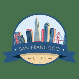 San Francisco Skyline Abzeichen