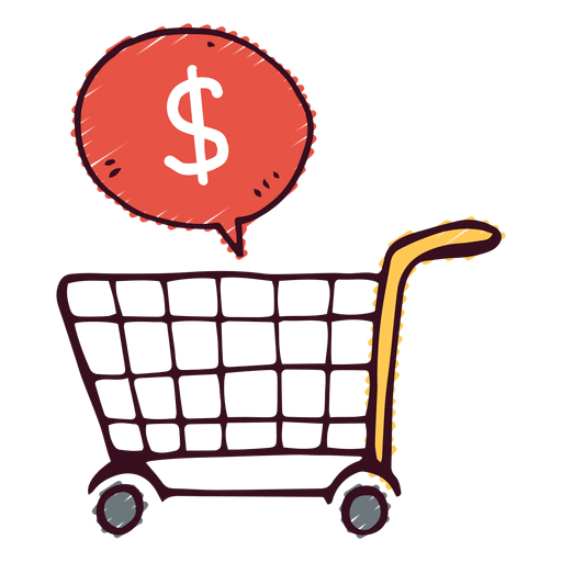 Shopping kart Transparent PNG