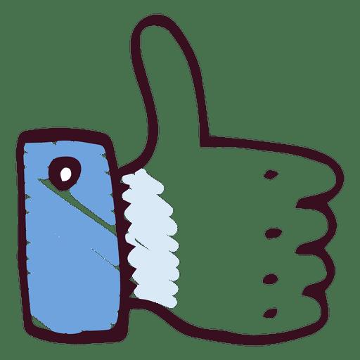 Download Vector Thumb Up Like Vectorpicker