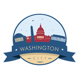 Distintivo de horizonte de Washington