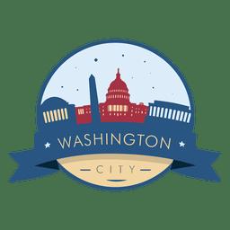 Insignia del horizonte de Washington