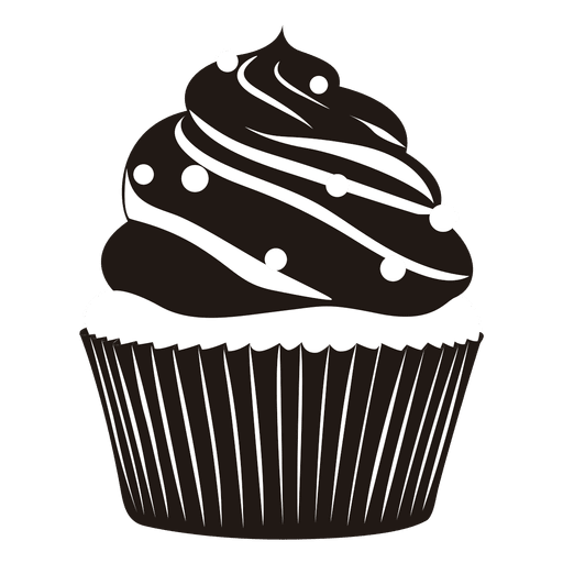 Yummy cupcake illustration Transparent PNG
