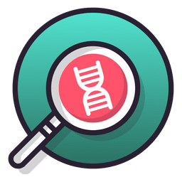 Ícone de pesquisa de DNA