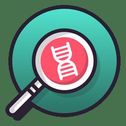 Icono de investigación de ADN