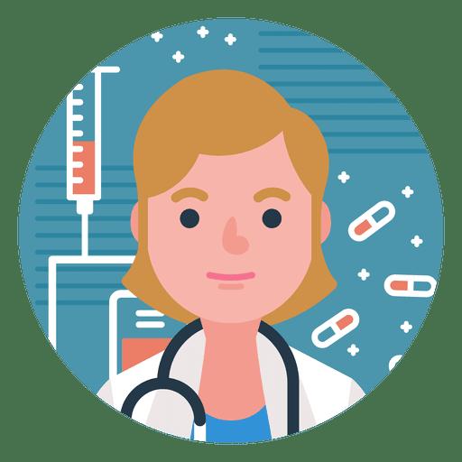 Charakter Arzt Frau Transparent PNG