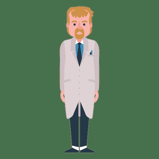 Doctor character illustration Transparent PNG