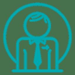 Icono de perfil médico