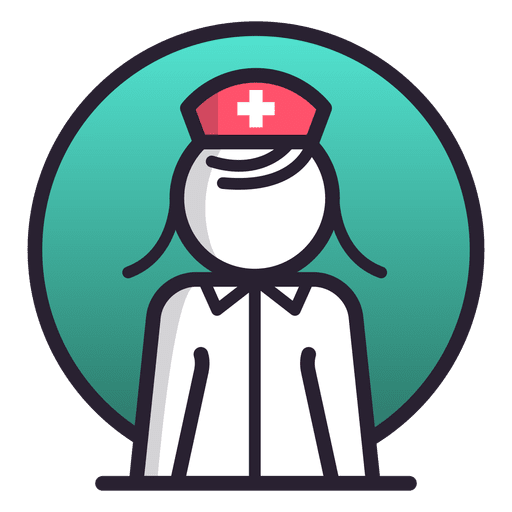 Female nurse icon Transparent PNG