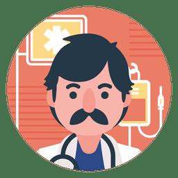 Plano médico de dibujos animados