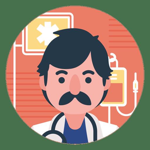 Dibujos animados médico plana Transparent PNG